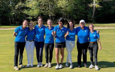 CHAMPIONNAT DE FRANCE EQUIPES DAMES – DIVISION 3 – 14 au 16 octobre au golf de La Prèze